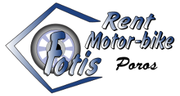 Moto Rental Fotis at Poros Island Logo